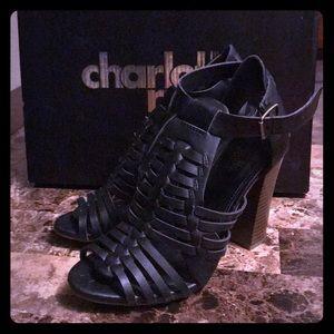 Charlotte Russe Heels Size 6 Style Helena Black